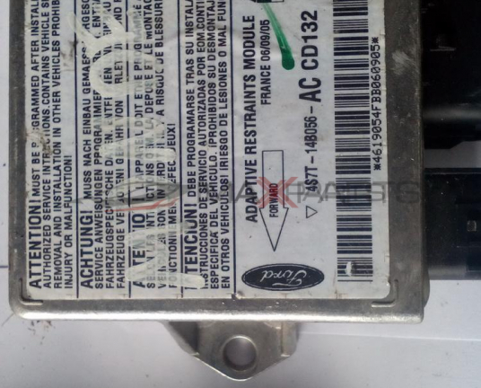 Централа AIRBAG за FORD MONDEO SRS Control Module  4S7T14B056AC   4S7T-14B056-AC