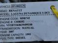 Дюзи за RENAULT LAGUNA 3  2.0DCI         BOSCH: 0445115007