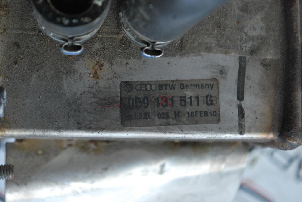 ЕГР охладител за VW PHAETON 3.0 TDI 059131511G