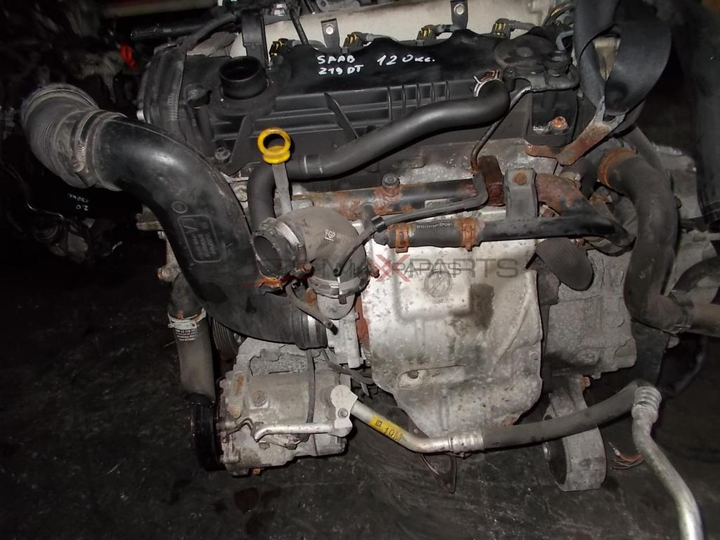 Двигател за SAAB 9-3 1.9TID 120HP Z19DT ENGINE