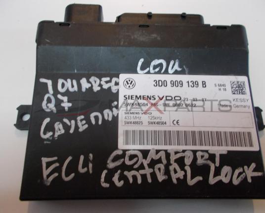 Комфорд модул за VW TOUAREG COMFORT CONTROL MODULE 3D0909139B  5WK48825