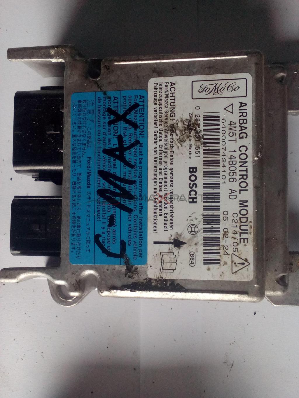 Централа AIRBAG за FORD C-MAX 2005 SRS Control Module  4M5T14B056AD  0285001551  4M5T-14B056-AD