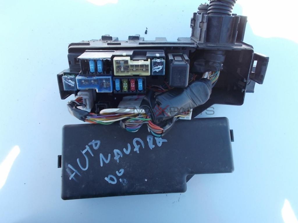 Nissan Navara 25 Dci Fuse Box On