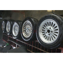 BMW E39   16'' ALUMINUM WHEELS