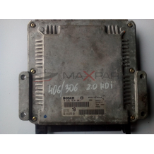 Компютър за PEUGEOT 406 2.0 HDI ENGINE ECU BOSCH 0281010361 9641607680
