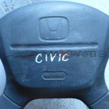 CIVIC 2000 STEERING WHEEL AIRBAG