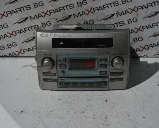 Радио CD за TOYOTA  COROLLA VERSO            CQ-TS7421LC