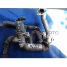 EGR охладител за KIA SORENTO 2.5 DCR 140 Hp