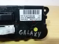GALAXY 2010 Heater Climate Controls