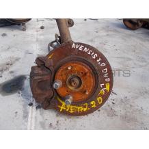 TOYOTA AVENSIS 2.0 D4D 116 Hp  L brake disk