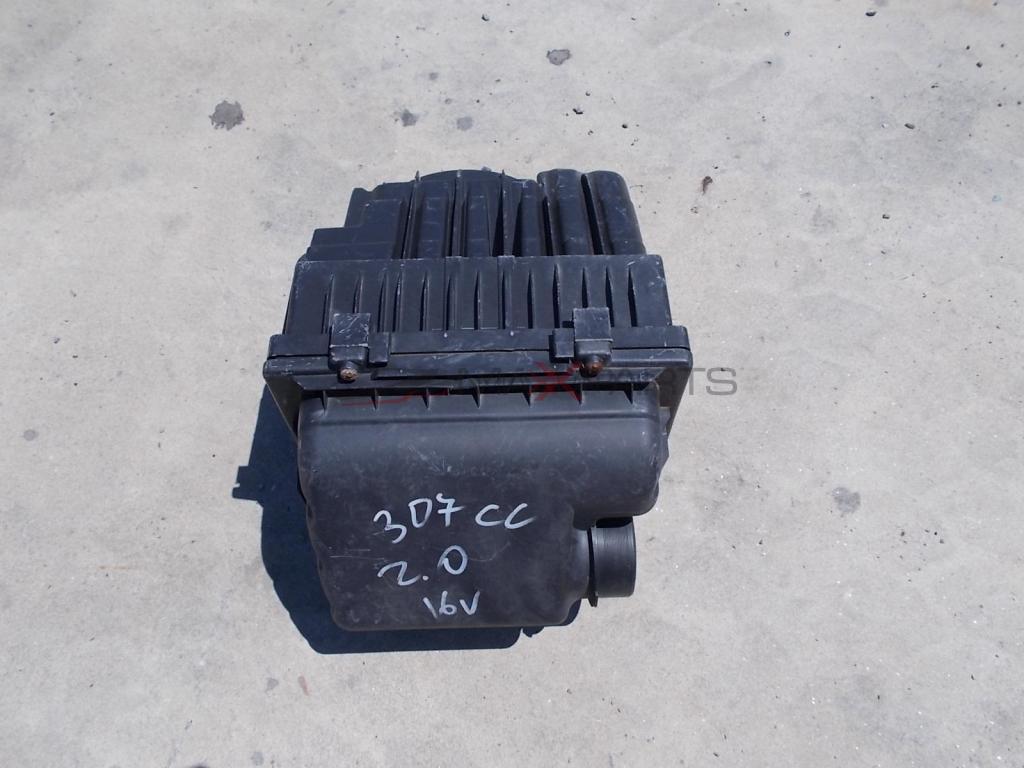 ФИЛТЪРНА КУТИЯ PEUGEOT 307 CC 2.0 16 V PETROL AIR FILTER BOX