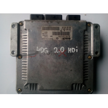Компютър за PEUGEOT 406 2.0 HDI ENGINE ECU 0281010593   9643527380