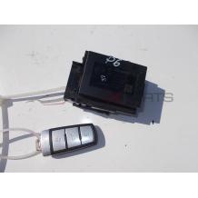 Гълтач и ключ за VW PASSAT 6 3C0905834Q