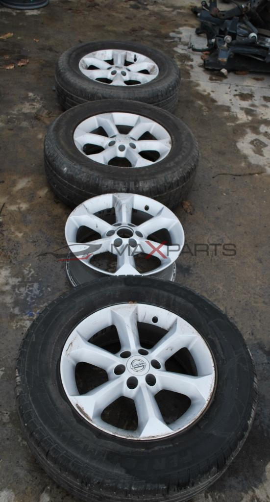 Алуминиеви джанти и гуми за NISAN NAVARA   255/65 R17