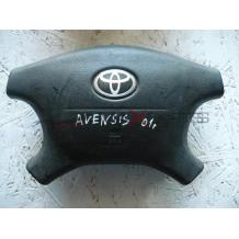 AVENSIS 2001 STEERING WHEEL AIRBAG
