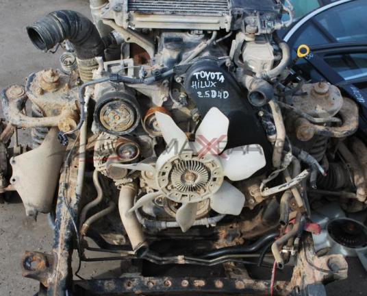 Двигател за TOYOTA HILUX 2.5D4D