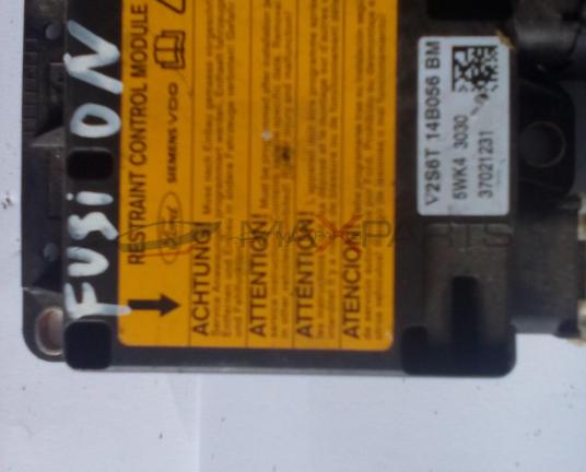 Централа AIRBAG за FORD FUSION SRS Control Module  2S6T-14B056-BM  5WK43030  2S6T14B056BM