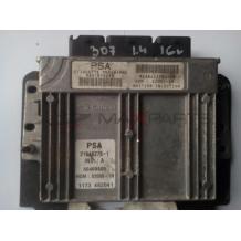 Компютър за PEUGEOT 307 1.4 16V ENGINE ECU 216462761  9641816280  9638442580  S200