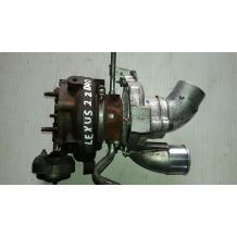 Турбо компресор за Toyota Lexus IS 220 2.2 D4D VB15 1720126010 17201-26010