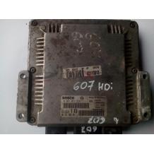 Компютър за Peugeot 607 2.2 hdi ENGINE ECU 0281011516 9652184280  9640938180 EDC15C2