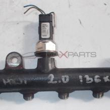 Горивна рейка за PEUGEOT 2.0 HDI 136 HP FUEL RAIL 9654726280