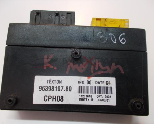 Комфорд модул за PEUGEOT 306 COMFORT CONTROL MODULE 9639819780
